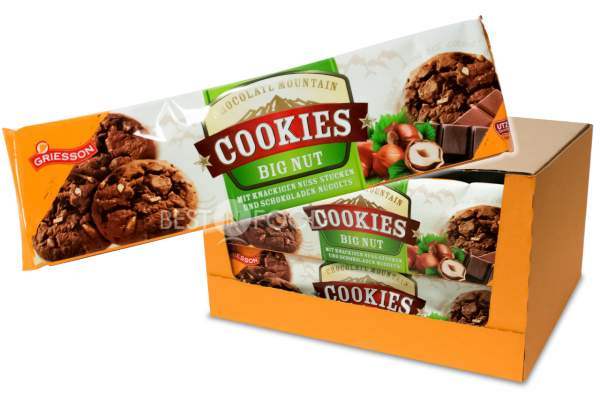 Griesson Mountain Cookies Big Nut 14x 150g