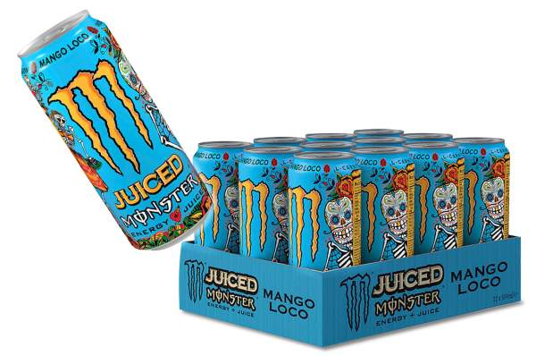 Monster Energy Juice Mango Loco Dose 12x 500ml