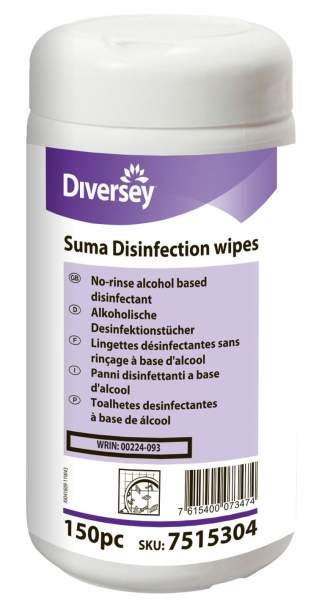 Suma Disinfection wipes