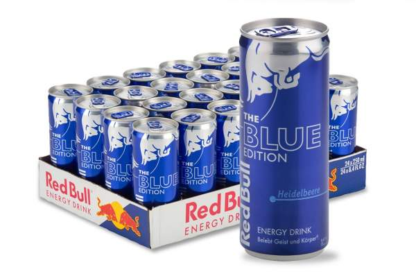 Red Bull Blue Edition Dose 12x 250ml