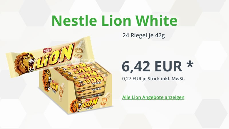 Nestle Lion White