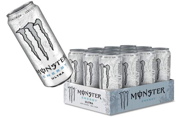 Monster Energy Ultra White Dose 12x 500ml