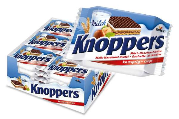 Storck Knoppers Haselnuss Schnitte 24x 25g