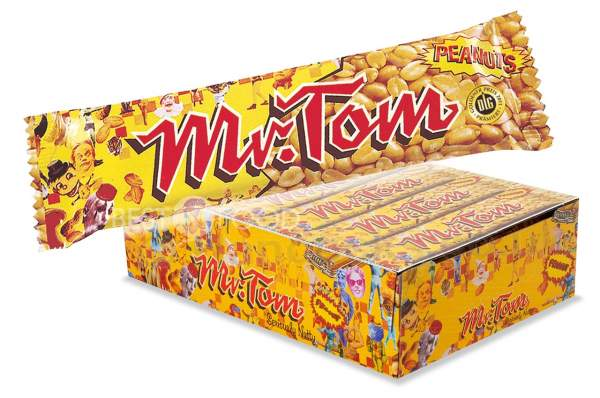 Mr. Tom Peanut Erdnussriegel 36x 40g